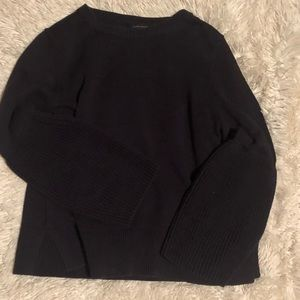 Ann Taylor Chunky sweater bell sleeves